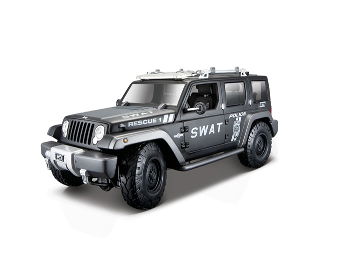 Jeep Rescue Concept Tactical