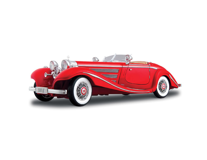 1:18 1936 M-B 500 K TYP SPECIALROADSTER