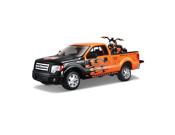 2007 XL 1200N Nightster® + Ford F-150 STX