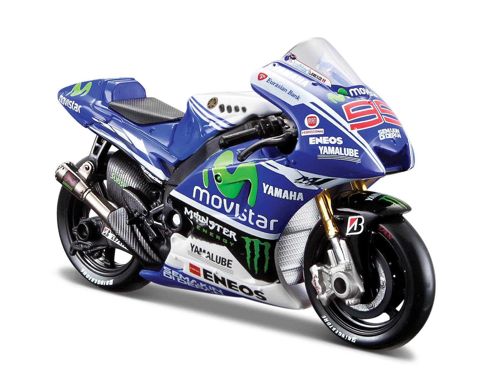 Yamaha Factory Racing Team 2014 1:18