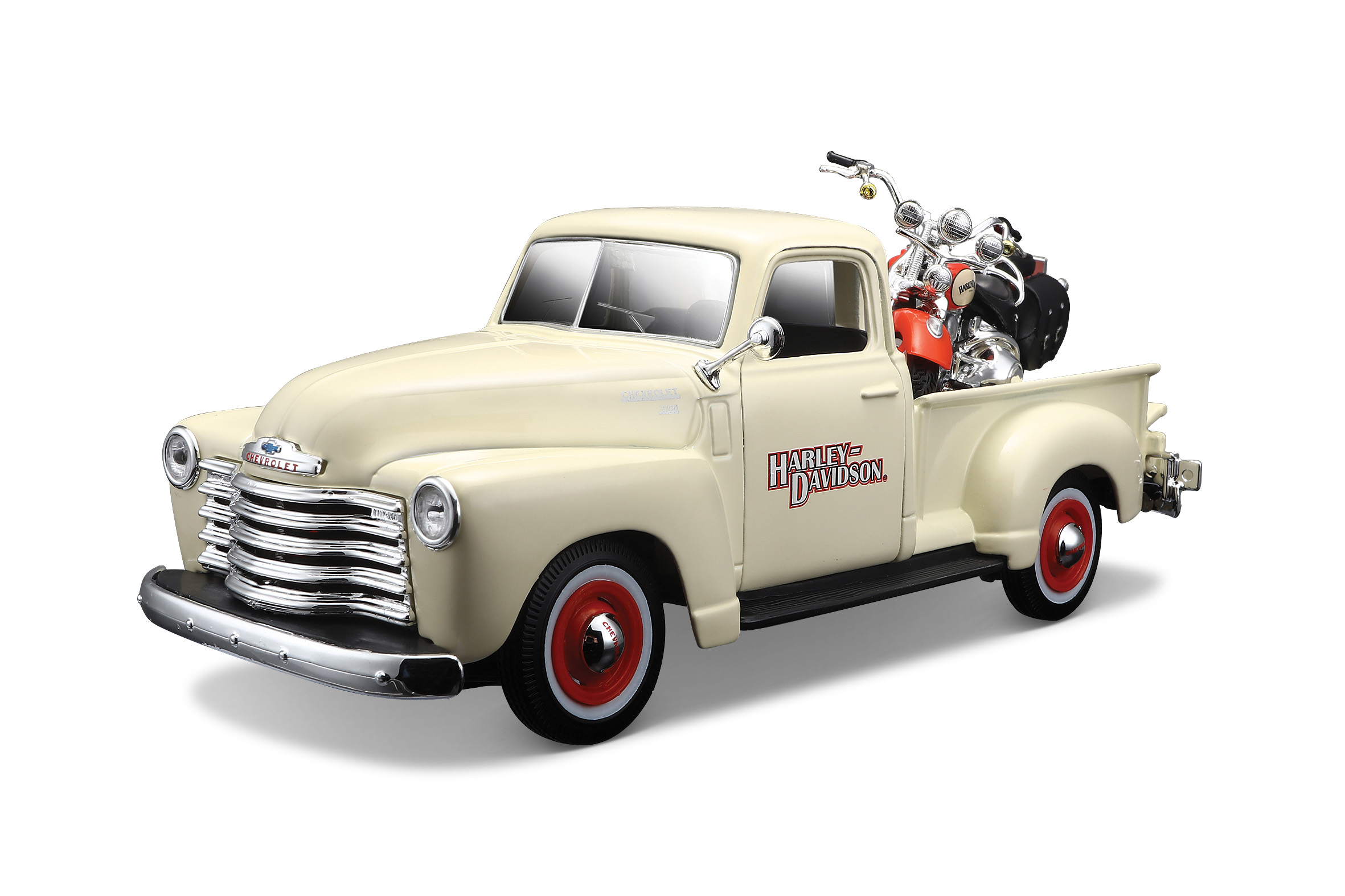 FLSTS Heritage Springer + 1950 Chevrolet 3100 Pickuo