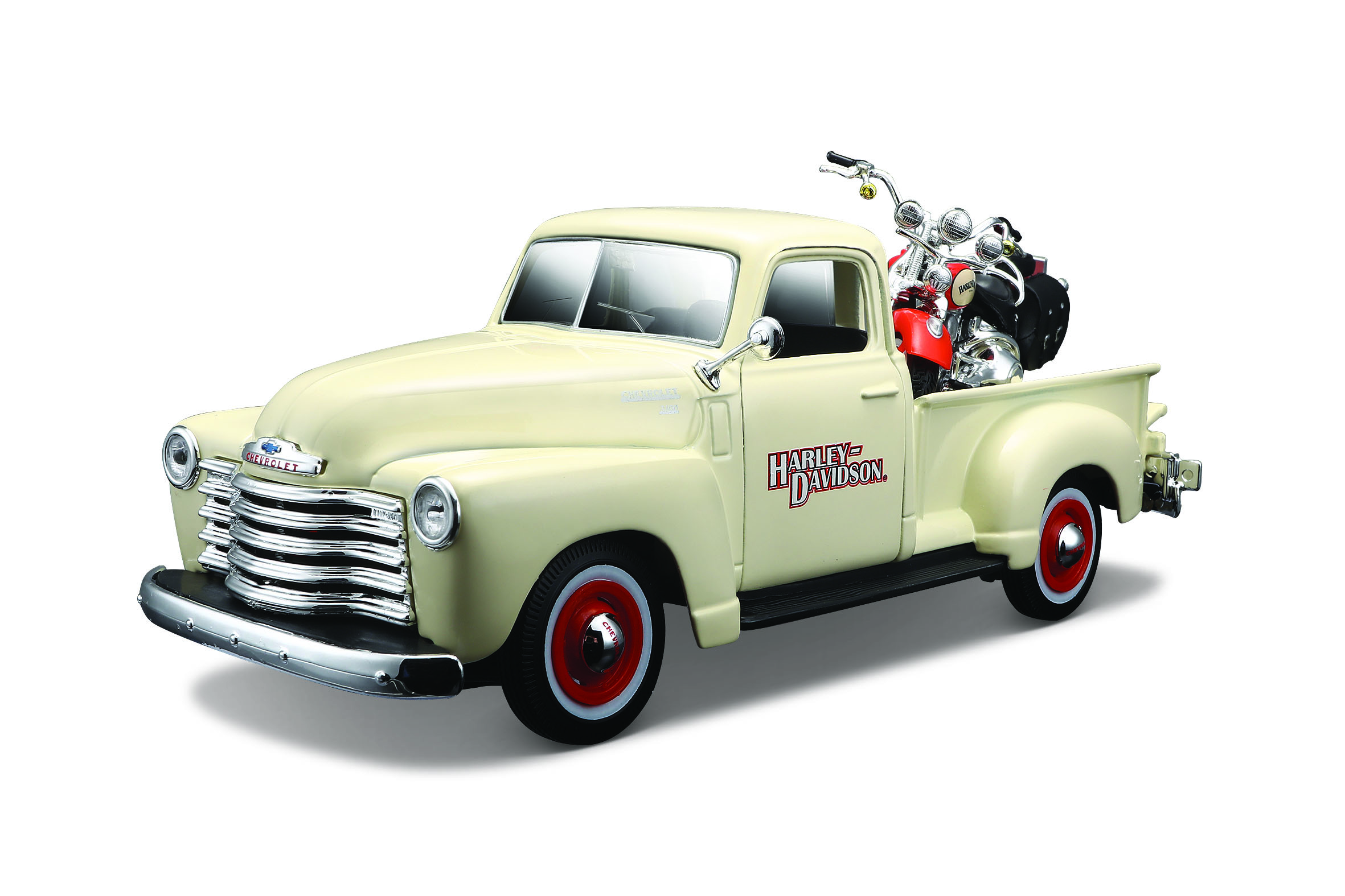 2001 FLSTS Heritage Springer + 1950 Chevrolet 3100 Pickup