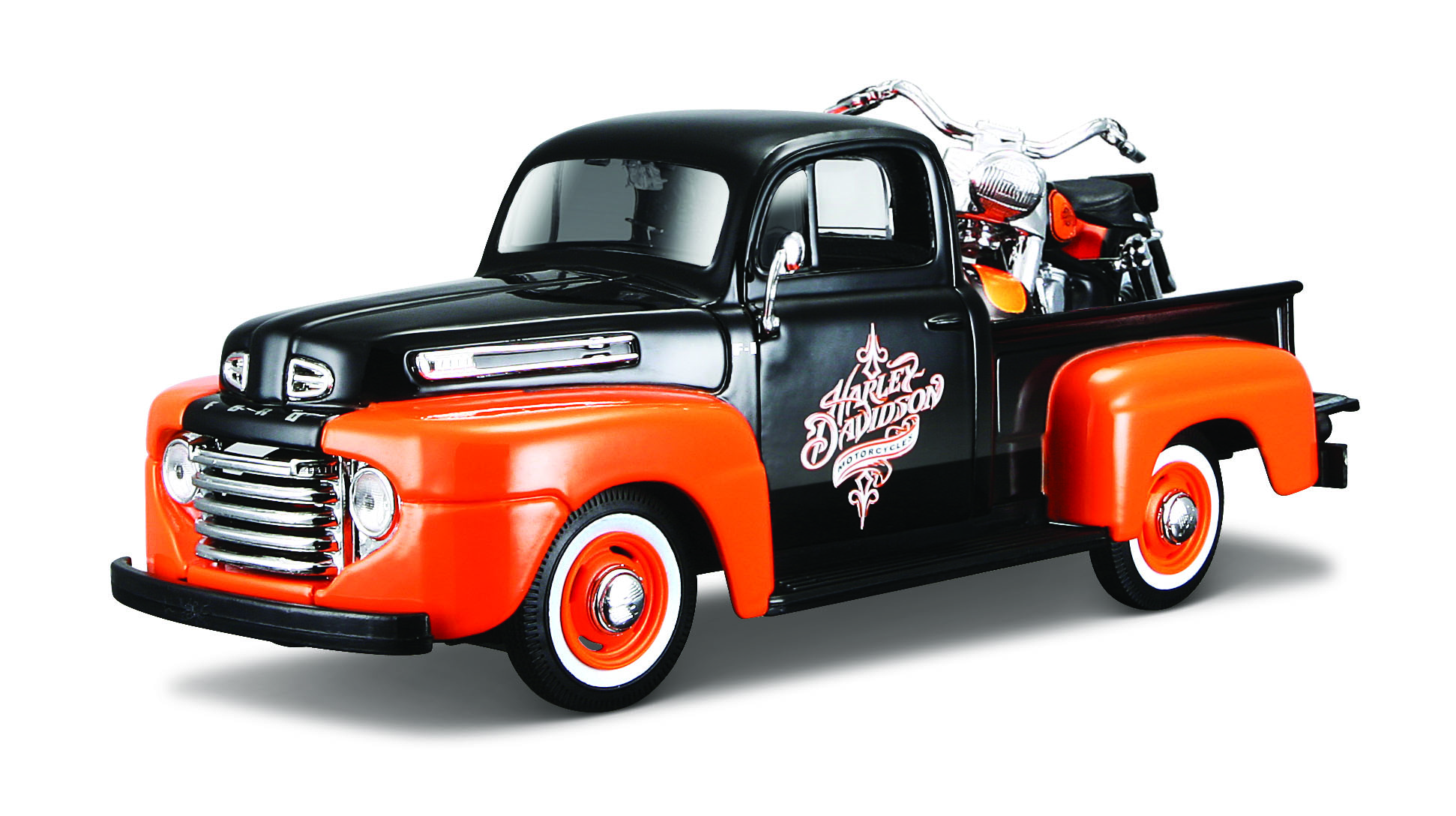 1958 FLH DUO GLIDE + 1948 FORD f1 PICKUP
