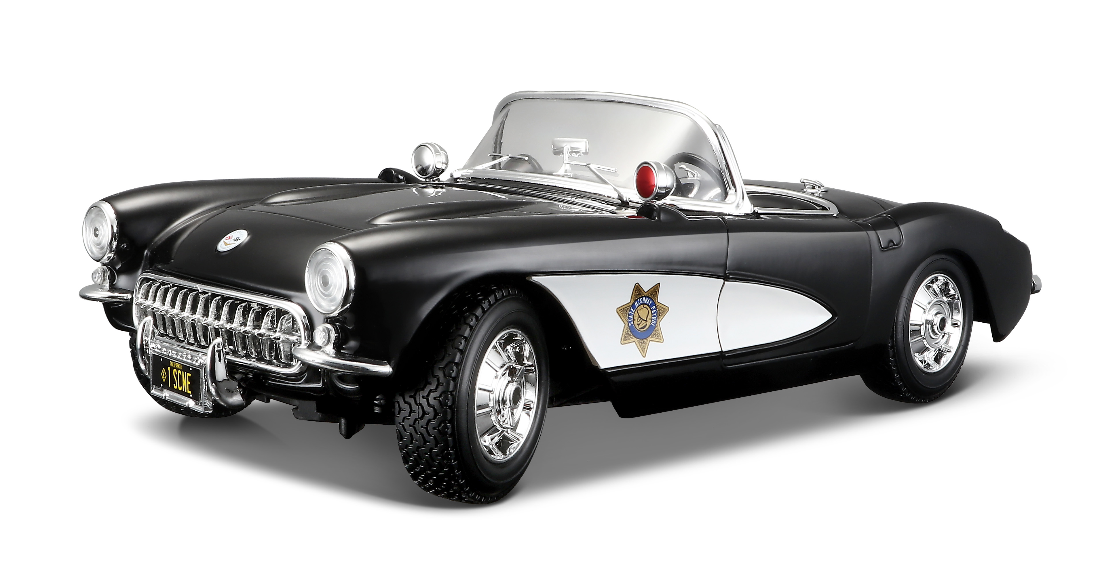 Chevy Corvette Police 1957